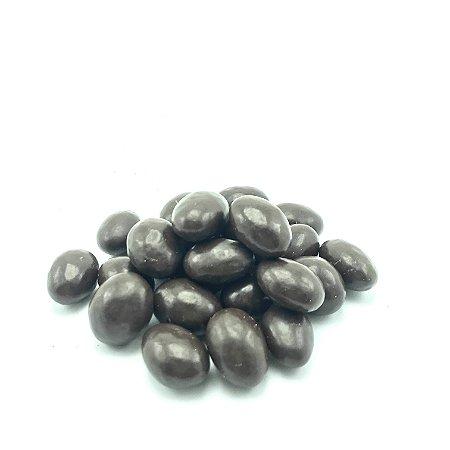Drageado de amêndoa com chocolate 70% (Granel - preço/100g)