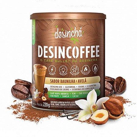 Desincoffee sabor baunilha e avelã Desinchá 220g