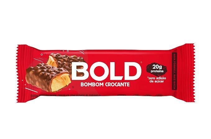 Barra de proteína sabor bombom crocante Bold 60g