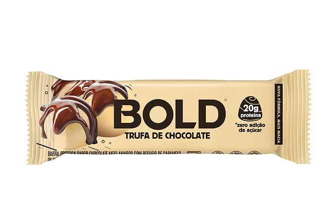 Barra de proteína sabor trufa de chocolate Bold Bar 60g