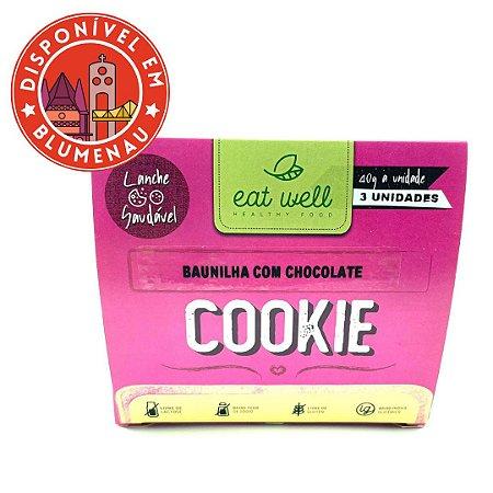 Cookie baunilha Eat Well 3 unidades