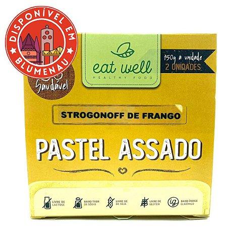 Pastel assado strogonoff de frango Eat Well 2 unidades