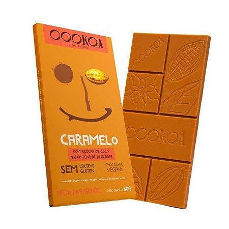 Chocolate caramelo Cookoa 80g