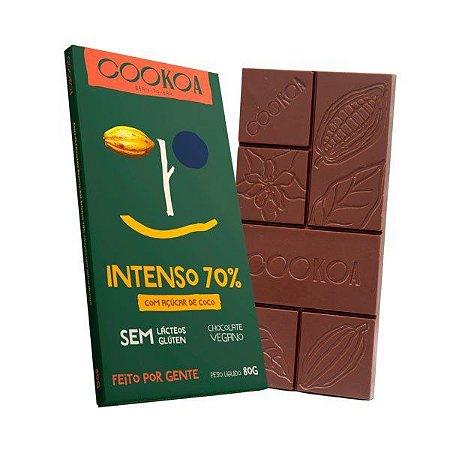 Chocolate intenso 70% Cookoa 80g