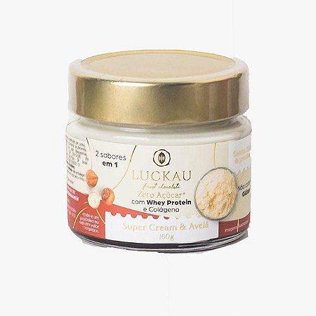 Creme duo super cream com avelã Luckau 160g