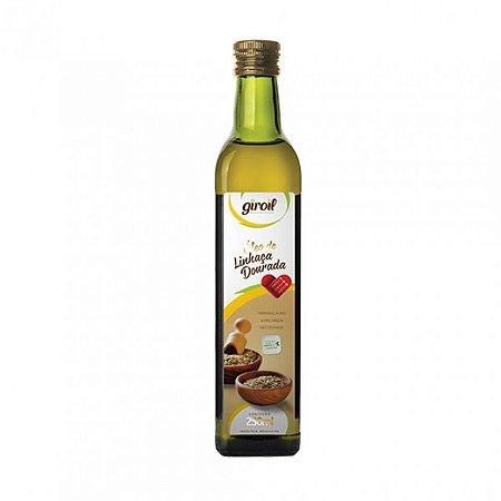 Óleo de linhaça extra virgem Giroil 250 ml