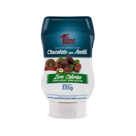 Calda de chocolate e avelãs Mrs taste 335g