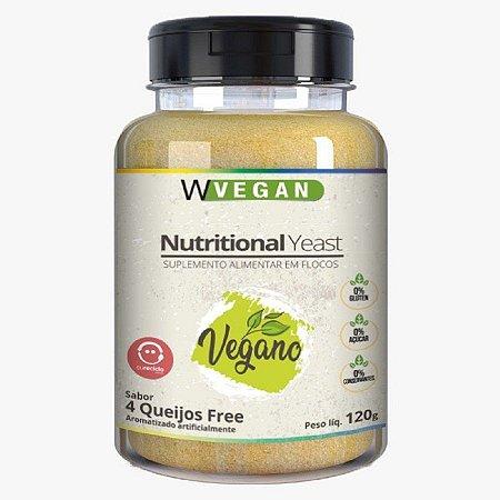 Nutritional yeast 4 queijos Wvegan 120g