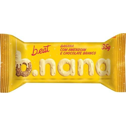B. nana amendoim e chocolate branco Beat 35g
