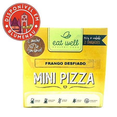 Mini pizza de frango desfiado Eat Well 2 unidades