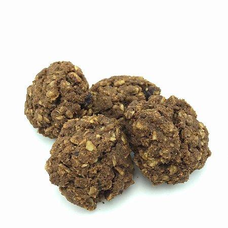Cookies de aveia com avelã e cacau (Granel - preço/100g)