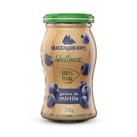 Geleia 100% mirtilo Queensberry 250g