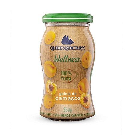 Geleia 100% damasco Queensberry 250g