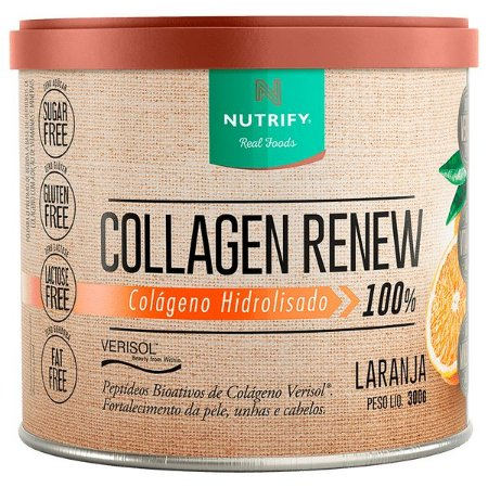 Colágeno sabor laranja Nutrify 300g