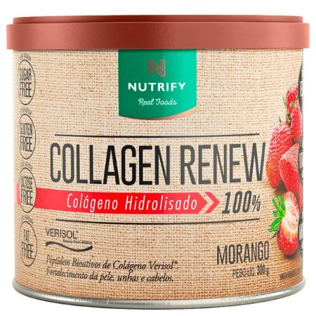 Colágeno sabor morango Nutrify 300g