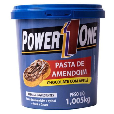 Pasta de amendoim de chocolate com avelãs Power One 1,005kg