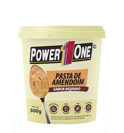 Pasta de amendoim sabor beijinho Power One 500g