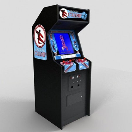 3ac6a82da2d Arcade Replica Modelo karate Champs - Casa do Arcade