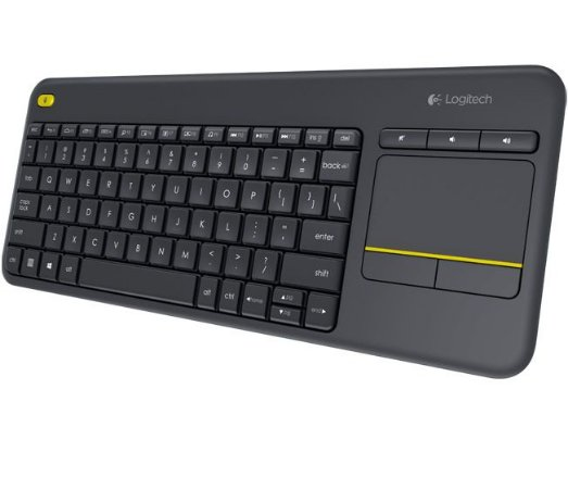 Teclado Wireless Touch Keyboard K400 Plus Logitech