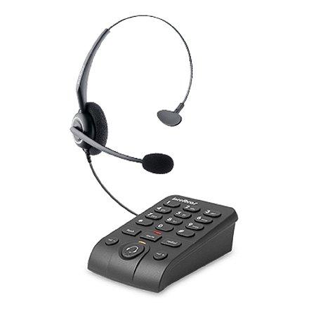 Telefone Headset Hsb 50 Com Base Discadora Intelbras