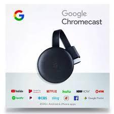 Chromecast 3 Google Original Lacrado Netflix Tv Smart