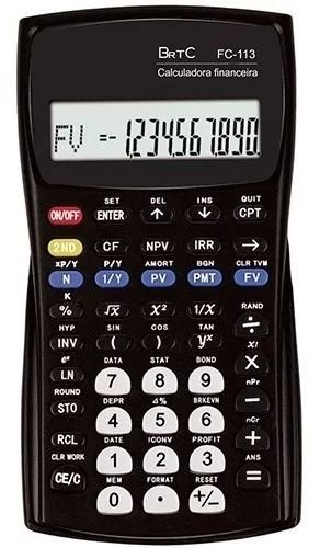 Calculadora Financeira Brtc Fc-113