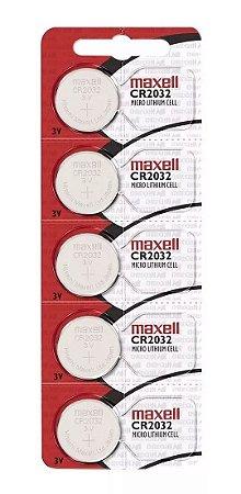5 Baterias Cr2032 Maxell