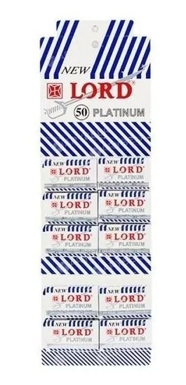 Lâminas Para Barbear New Lord Platinum C/500 Unidades