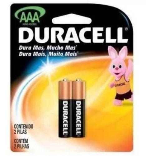 Kit 12 Cartelas De Pilhas Duracell Alcalina AAA Palito
