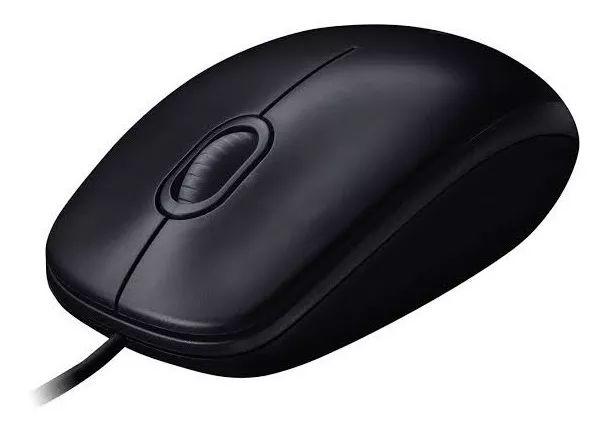Mouse Com Fio Logitech M100 Usb
