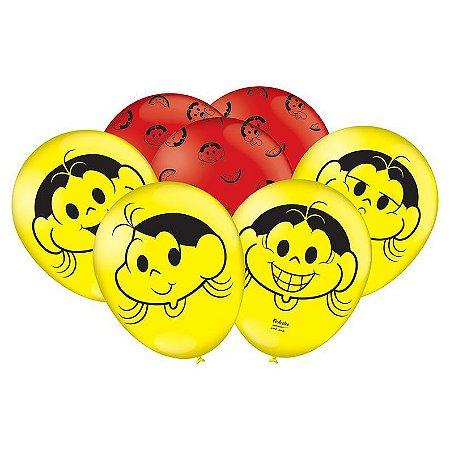 Balão de latéx 9 polegadas - Magali - 25 unidades