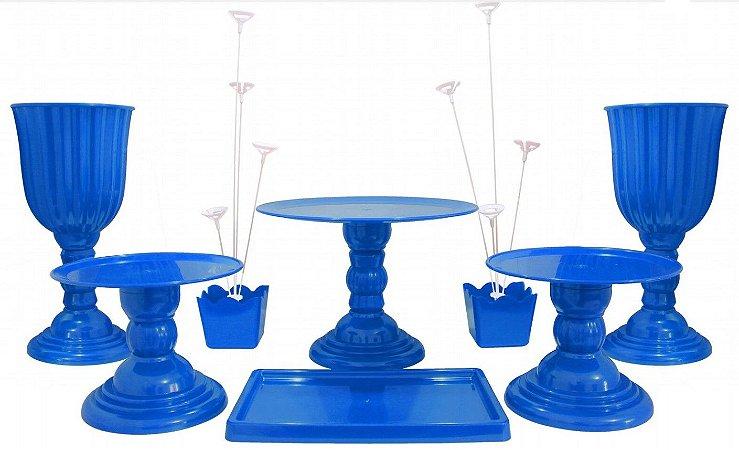 Kit Festa Dubai Luxo - Azul turquesa