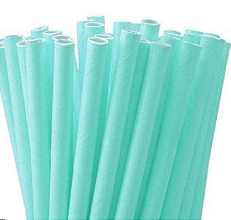 Canudo de papel- Verde