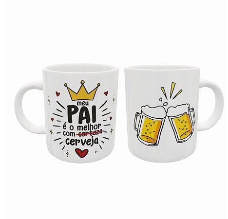 Caneca Cerâmica - Dia Dos Pais - Cerveja