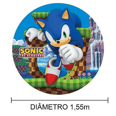 Painel Sublimado 1,55m - Sistema Monte Fácil - Sonic