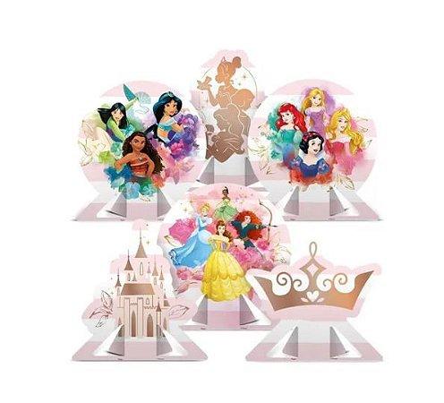 Decoração De Mesa - Festa Princesas Disney - 06 Un - Disney
