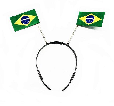 Arquinho Tiara Bandeira Brasil Torcedor