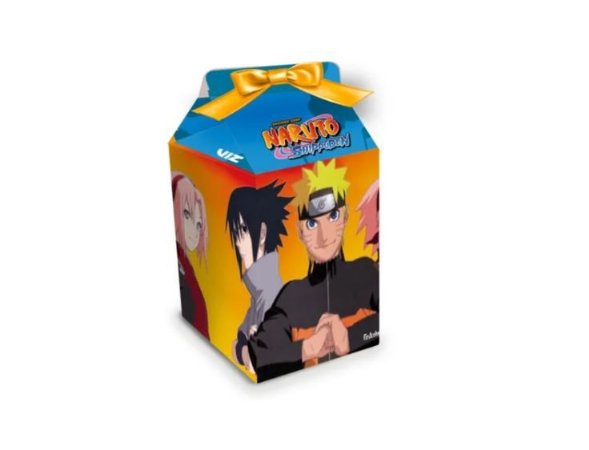 Caixa Milk Naruto 08 Unidades Caixa Surpresa