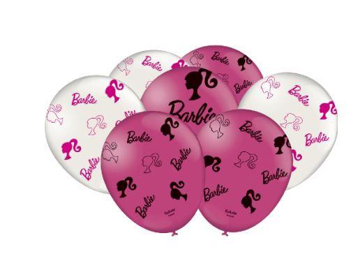 Balão de Látex Barbie tamanho 9 Festcolor