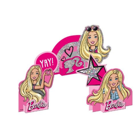 Decoração de mesa especial Barbie