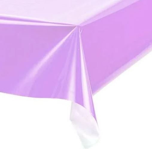 Toalha de Mesa Plástica -LIlás