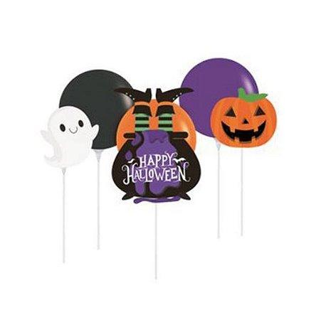 Kit Balão Topo de Bolo Halloween - 1 Unidades