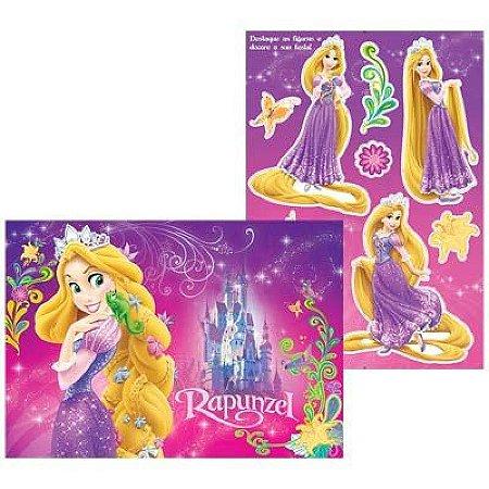Kit Painel Decorativo Cartonado Rapunzel Disney - Enrolados