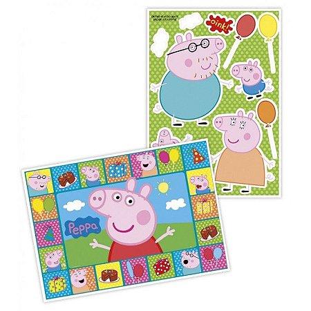 Kit Painel Decorativo Cartonado Peppa Pig