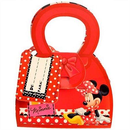Caixa Surpresa Minnie Vermelha