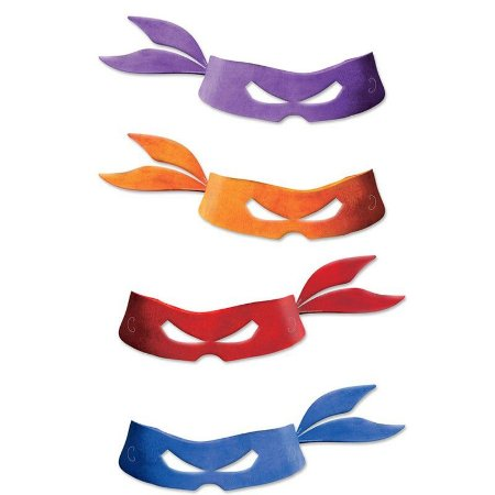 Máscara Tartarugas Ninja
