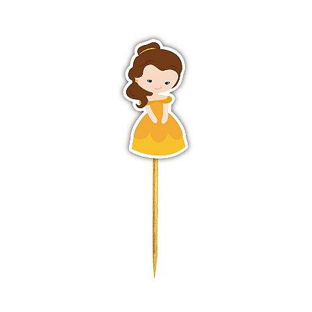 Enfeite Para Cupcake Princesa Bela