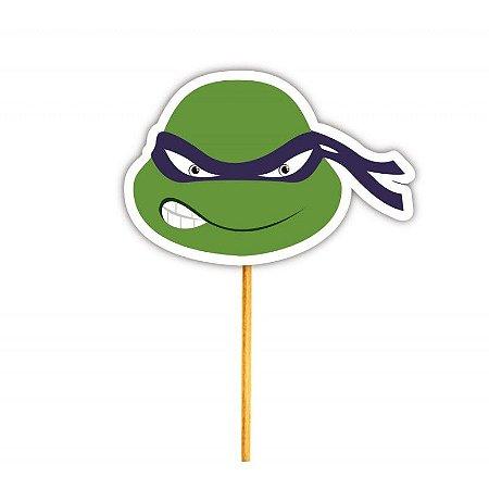 Enfeite Para Cupcake Tartaruga Donatello