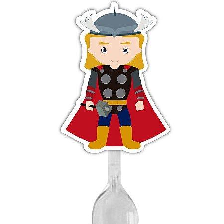 Colherzinha Para Brigadeiro Justiceiro Thor