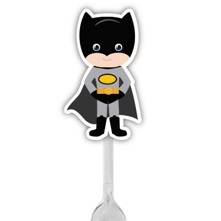 Colherzinha Para Brigadeiro do Super Herói Batman